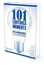 Publication of 101 Lightbulb Moments in Data Management